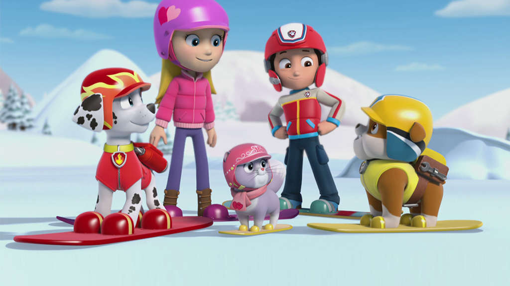 paw patrol pups save a ghost. Black Bedroom Furniture Sets. Home Design Ideas