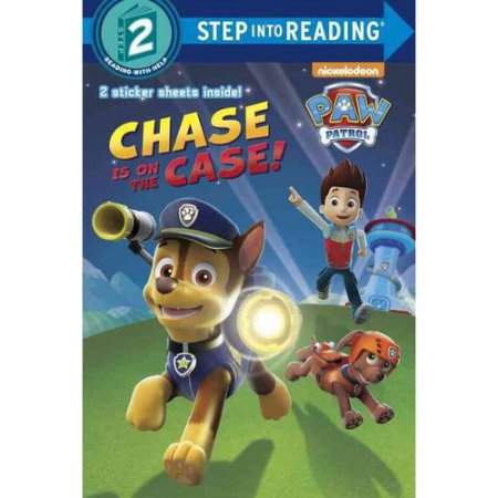 chase-is-on-the-case PAW PATROL COLORING BOOK