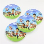Child kids boys birthday party paper plate 7inch