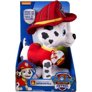 REAL TALKING MARSHAL PLUSH